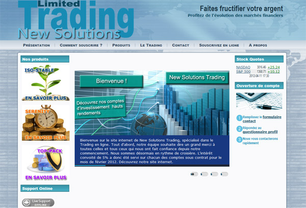 New Solutions Trading