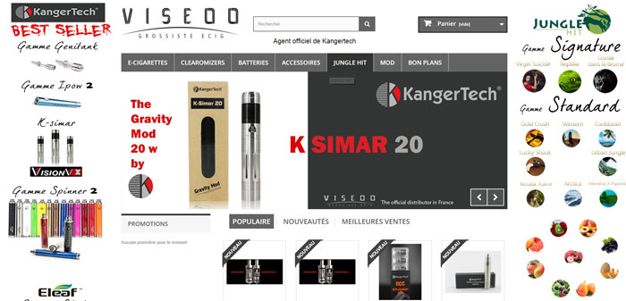 Viseoo - Grossiste cigarette électronique